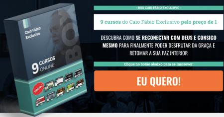 Box Caio Fábio - 9 Cursos Pelo Preço de 1!