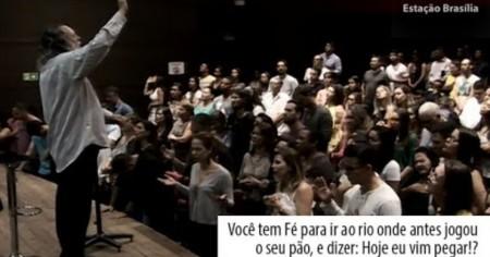 VOCÊ TEM FÉ PARA IR AO RIO E DIZER: HOJE EU VIM PEGAR!?