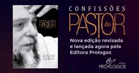 """LIVRO """"CONFISSÕES DO PASTOR"""" - CAIO FÁBIO"""