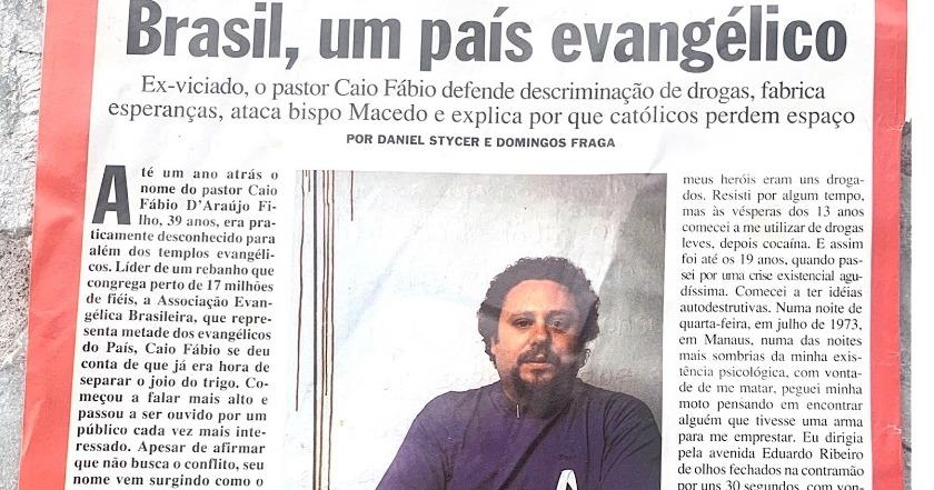 Brasil, um país evangélico. - Revista ISTOÉ/1321 - 25/01/1995